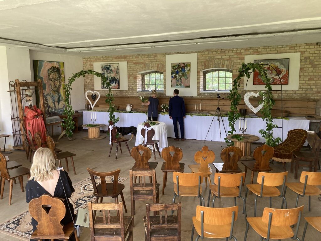 Freie Trauung in der Kunstmühle